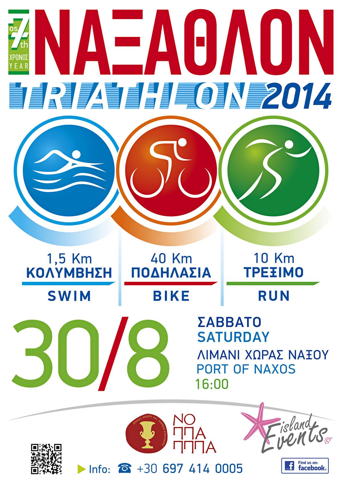 Triathlon Poster 2014
