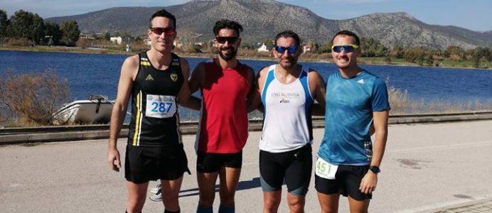 Athens Triathlon Team in CISM Day
