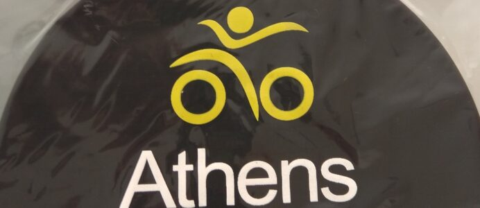 Athens Triathlon Team Swimming Silicon Cap